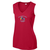 - LST352 Sport-Tek® Ladies Sleeveless PosiCharge™ Competitor™ V-Neck Tee